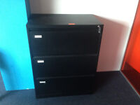 office black filing cabinet 3-Drawer Lateral File Cabinet