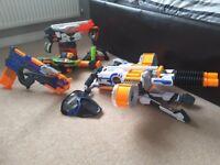 Nerf gun bundle and 2xmasks