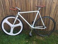 Fixie bike flip/flop hub single speed