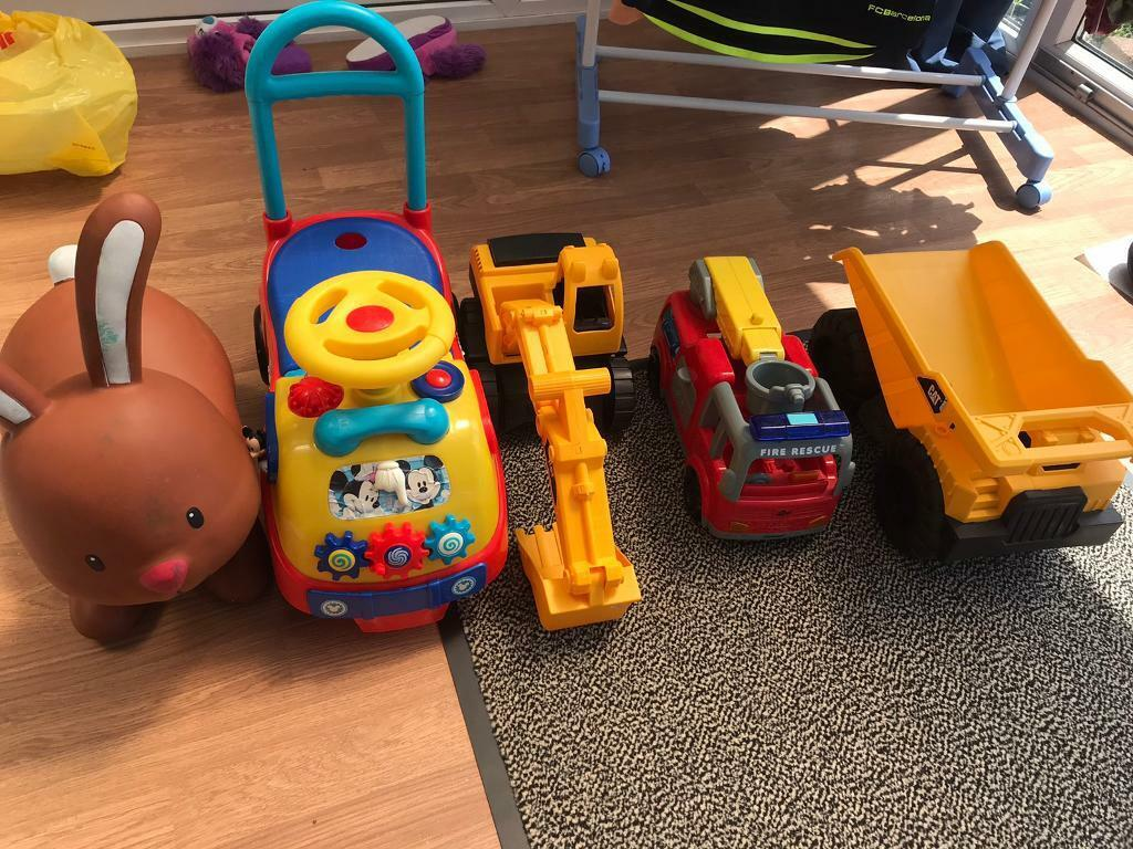 Garden Toys Children Kids Ride On Mickey Play large cars Tractor Fire Truck Sand Boys Outdoor   in Abingdon, Oxfordshire   Gumtree