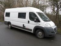 Fiat Ducato Motorhome 2.3 Multijet High Roof Van 120 (white) 2007