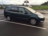 2007 Ford Galaxy 1.8tdci Ghia with 7 leather seats-cruise-6 speed-long MOT