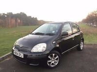 2004 TOYOTA YARIS 1.0 T3, PETROL, AUTO,5-DOOR***NEW MOT***ONE OWNER***60,000 MILES WITH FULL SERVICE