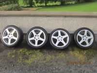 for sale 17 inch mercedes alloys wheels