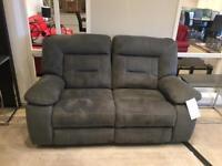 Twin reclining sofa
