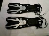 Mares volo open heel diving fins