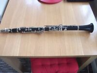 CLARINET FOR SALE SUIT BEGINNER OR EXPERIENCED USER BARGAIN £40.00
