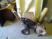 antique snowblower