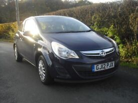 Vauxhall Corsa Ecoflex, long MOT, low mileage, one previous lady owner, FSH and just been serviced