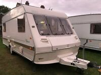 Caravan 4/5/6 berth ABI Ace Tycoon 94 lovely condition *awning available Light