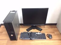 Budget Gaming Computer PC Complete Setup with monitor (Intel 3GHZ, 4GB RAM, 500GB HD, 1GB Graphics)
