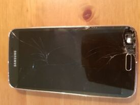 Samsung Galaxy S 5 gold spares repairs £40 Ono
