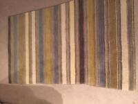 JOHN LEWIS multi stripe rug