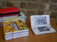 Like New Nintendo 3DS + 3 Games + Accessories