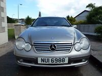 2004 MERCEDES C220 CDI - MOT 14th OCT 2016 - 87000 MILES - 6 SPEED - GREAT CONDITION