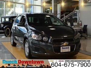 2016 Chevrolet Sonic LT - Original MSRP  $23,165