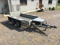 IFor Williams GX84 2700kg Plant Trailer (8x4 ft)