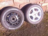 2 Continental Sport Contact 205-55-15 Tyres 1 Is New