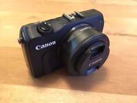 Canon EOS M DSLR Camera with 22mm f2.0 lens