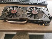 Asus Strix Nvidia Geforce GTX 970 Graphics Card Faulty see decription