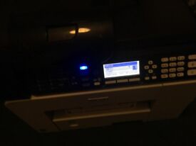 Ricoh all in one printer copier scanner fax wifi ready to print with some ink left