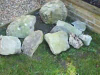 rockery stones . just need a pressure wash come up nice when done . need gone asap