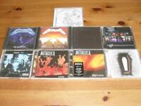 metallica 9 cd albums