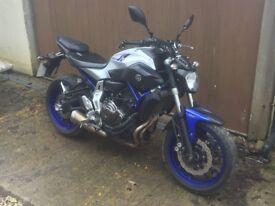 Yamaha MT07 2016 (Race Blue)