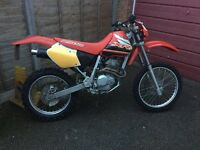 Honda XR250R Road Legal Green Laner