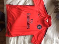 PSG Shirt - Red - used - 2014 - large mens