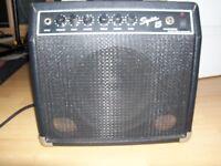 Fender Squier 15watt Guitar Amplifier, Used In Good Condition and Good Working Order.