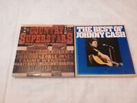 Country Superstars Box of Eight LPs - Readers Digest 1978