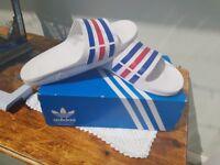 Adidas slides flip flops very comfy size 11