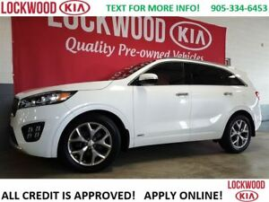 2016 Kia Sorento SX V6 - PANO ROOF, NAVI, 7 SEATS, LOADED