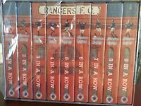Rangers F C 9 in a row video set New