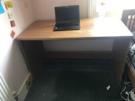 Large desk +/- chair