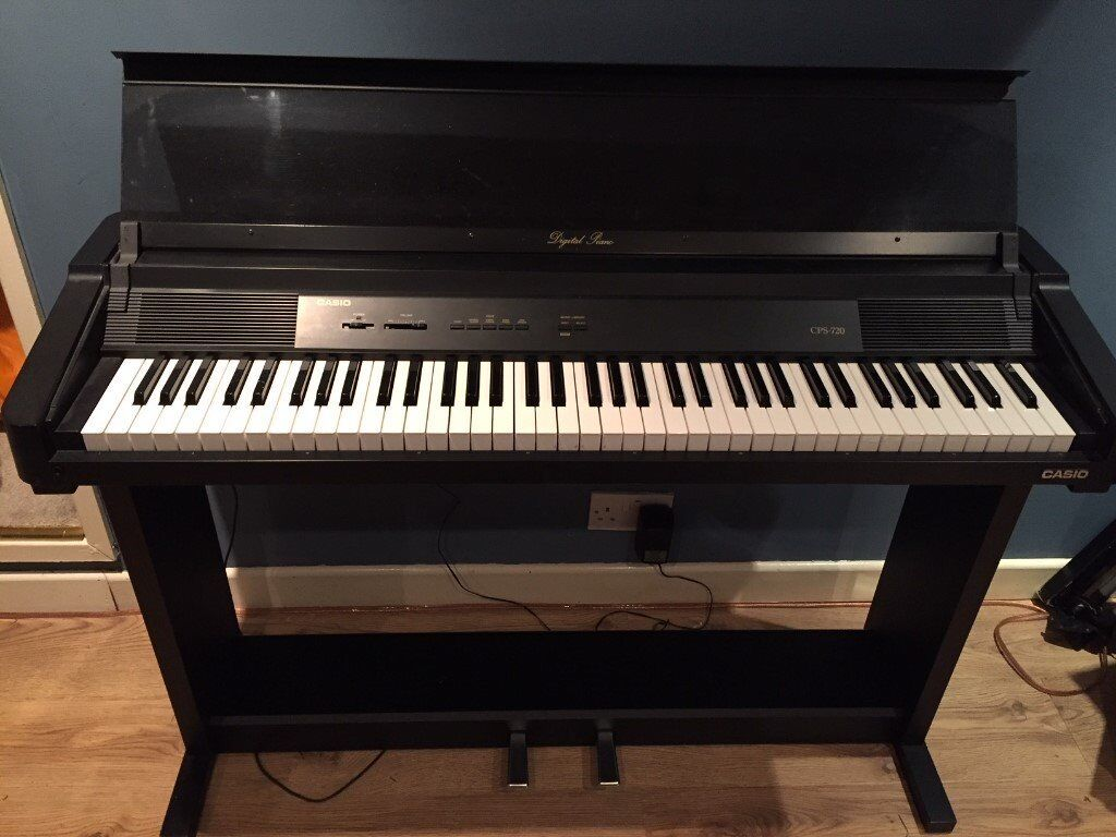 casio cps 720 electric piano in sunderland tyne and wear gumtree. Black Bedroom Furniture Sets. Home Design Ideas