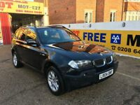 2004 BMW X3 SE 3.0 AUTOMATIC BLACK KEATED LEATHERS 69 000 MILES 1 OWNER