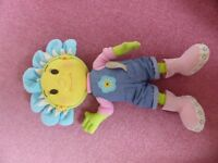 Lovely cute large size Fifi soft toy that talks when you press her belly