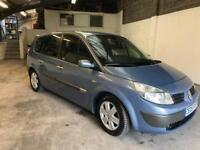 Renault grand scenic 1.6 7 seater new mot 2 owners