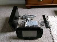 Wii U, 4 Wii Motes, Fit board & 10 games