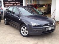 2007 FORD FOCUS 1.8 5DR ZETEC CLIMATE VERY CLEAN CAR CHEAP RUNABOUT FINISHED IN GREY