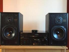 Technics Stereo Music system incl wireless adaptor