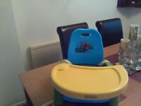 Winnie the Pooh baby/ toddler booster feeding seat