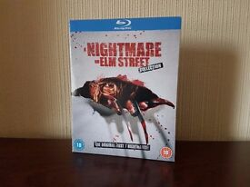 Nightmare on Elm Street 7 Movie Collection Blu-Ray - Read Description