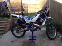 Yz 250 two stoke