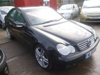 Mercedes C220 CDI Classic,4 dr saloon,FSH,nice clean tidy car,runs and drives very well,Sports Auto