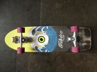 **SMOOTH STAR Surf Skateboard, HOLY TOLEDO 33""