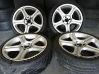 "Genuine Antera Type 143 of 17"" 4x100 alloy wheels classic rare old school"