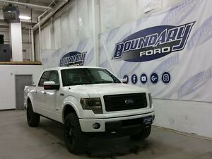 2013 Ford F-150 Limited W/ Sunroof, Aftermarket Wheels, Cmd Strt